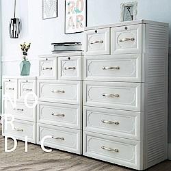 【日居良品】歐式古典3+4+5層系列收納櫃-DIY(60面寬)
