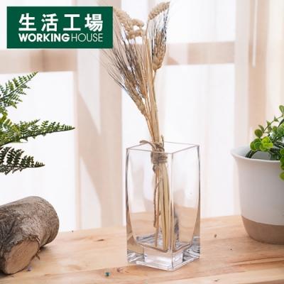 【SALE優惠大解封↓3折起-生活工場】Clear直立長型手工花瓶H15cm