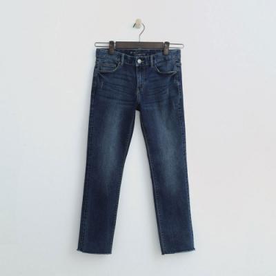 Hang Ten - 女裝 -特色水洗牛仔褲 - 藍