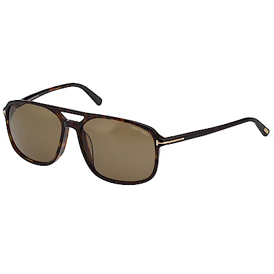 TOM FORD 中性款 太陽眼鏡-琥珀色-TF9332