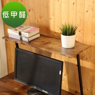 BuyJM 低甲醛復古紋桌上型置物架/印表機架80x30x50公分