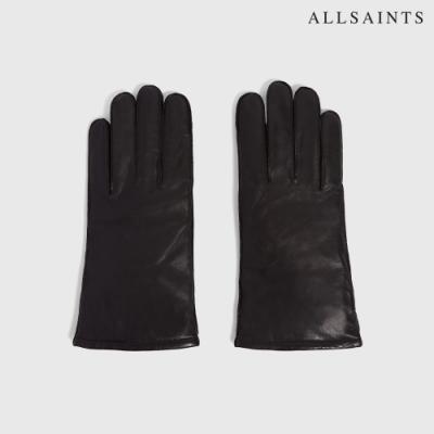 ALLSAINTS YIELD 純山羊皮舒適皮革手套