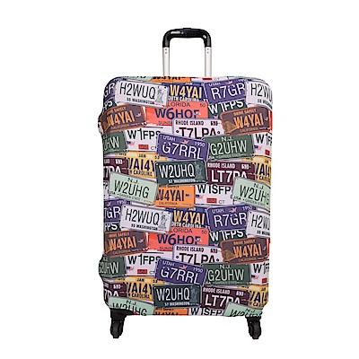 行李箱保護套-車牌L ODS15B07LCP