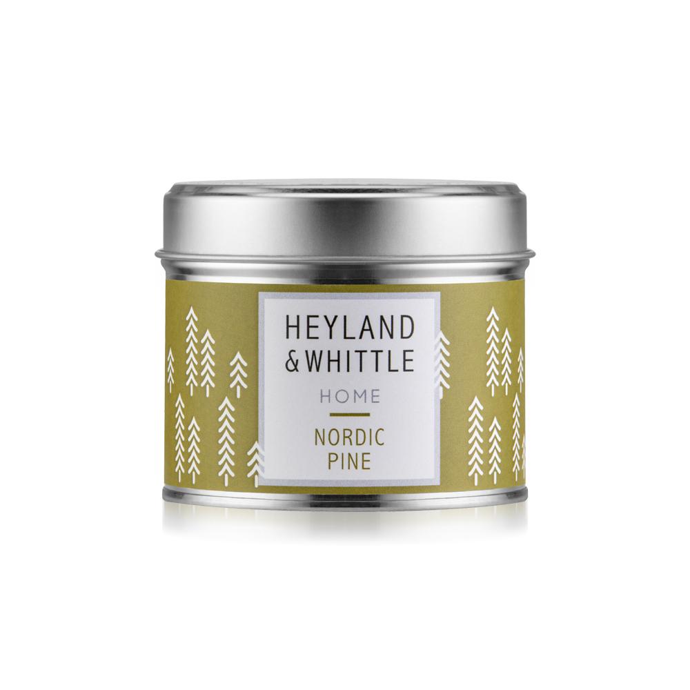 H&W英倫薇朶 北歐雪松香氛燭罐180g