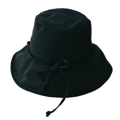 米蘭精品 防曬遮陽漁夫帽-棉麻純色百搭女帽子母親節禮物4色73vf6