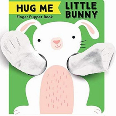 Finger Puppet Book:Little Bunny 抱抱小兔指偶書