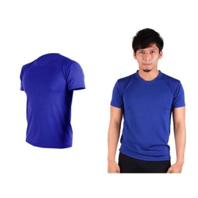 HODARLA 男女 FLARE 100 吸濕排汗衫 藍