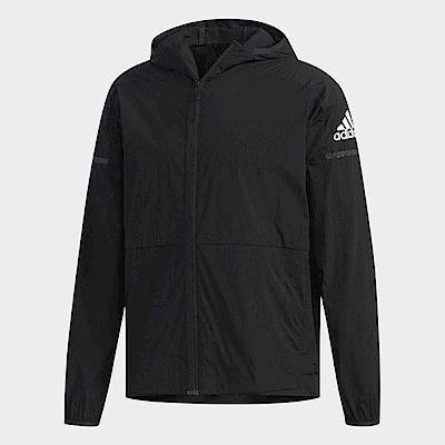 adidas 連帽外套 WB Light Jacket 男款