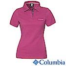 Columbia 哥倫比亞 女-防曬25快排短袖POLO衫 UAR19710