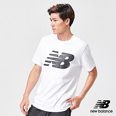 New Balance NB DRY 短袖上衣_MT91923WT_男性_白色