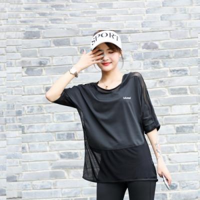 Biki比基尼妮,M-3L泳裝偉諾短袖寬鬆罩衫泳衣-單罩衫(黑)