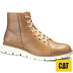 【CAT】THAMES輕量皮靴-男(CA722895)