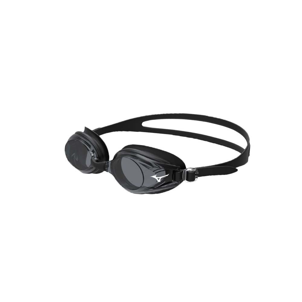 MIZUNO 日製-健康型墊片泳鏡   SWIM 黑白