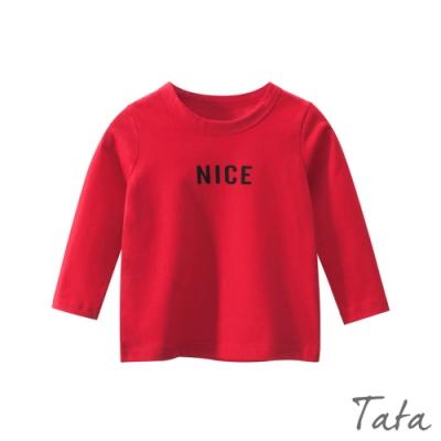 童裝 NICE字母印花上衣 TATA KIDS