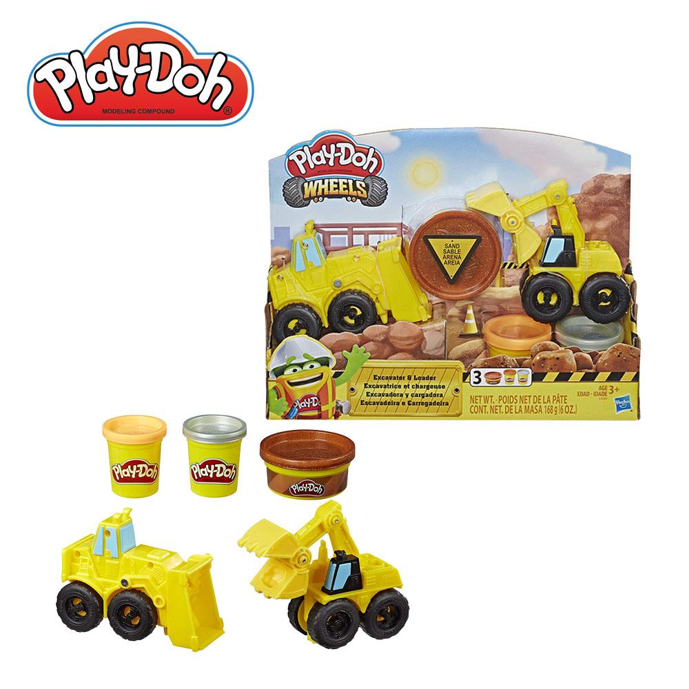 Play-Doh 培樂多-車輪系列怪手組