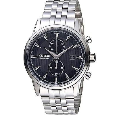 CITIZEN Eco-Drive 都會雅痞時尚腕錶(CA7001-87E)黑/ 43mm