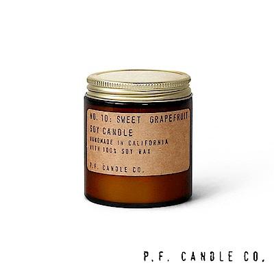 美國 P.F. Candles CO. No.10 香甜葡萄柚 手工香氛蠟燭 99g