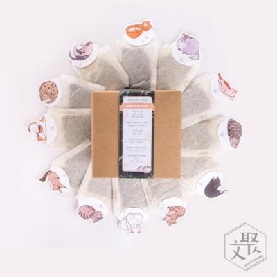 文聚 貓與自然農花茶禮盒 (檸檬草 x6+洋甘菊 x6)