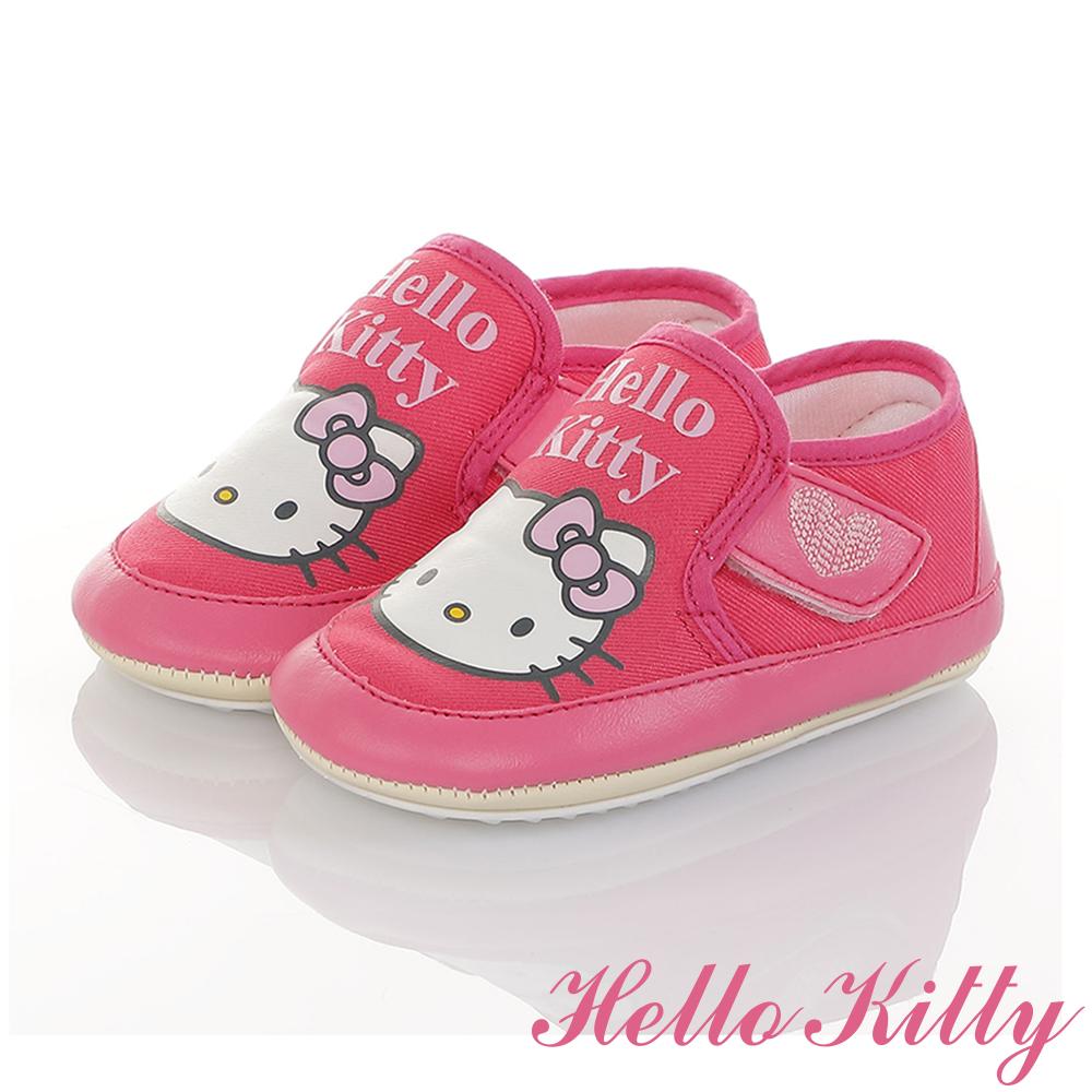 HelloKitty童鞋 輕量減壓寶寶學步娃娃鞋-桃