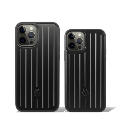RIMOWA Matte Black 黑色手機殼 iPhone12/12 Pro/Pro Max