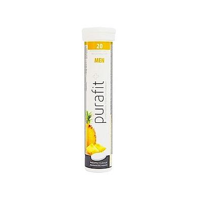 德國Purafit 鋅錳綜合維他命鳳梨發泡錠(90g/20錠)