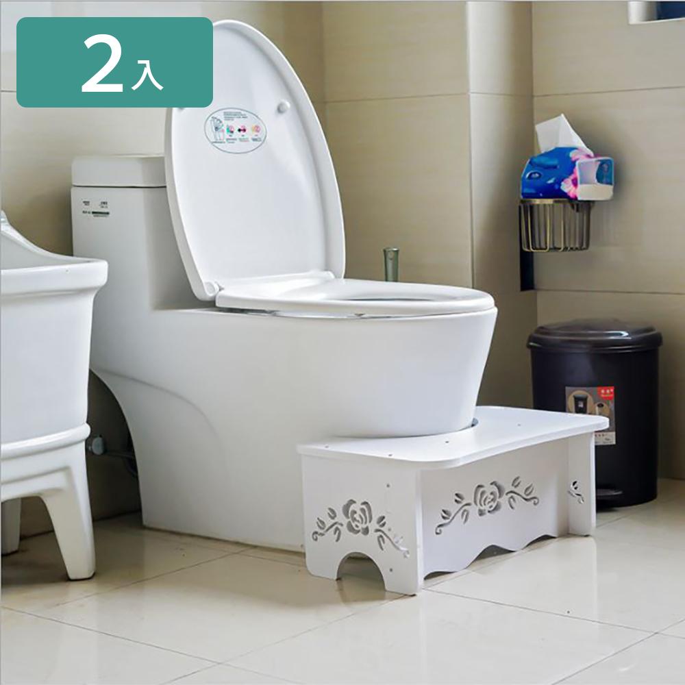 【家適帝】排便神器 -加厚耐用木塑防潮神奇好便椅 (2入)