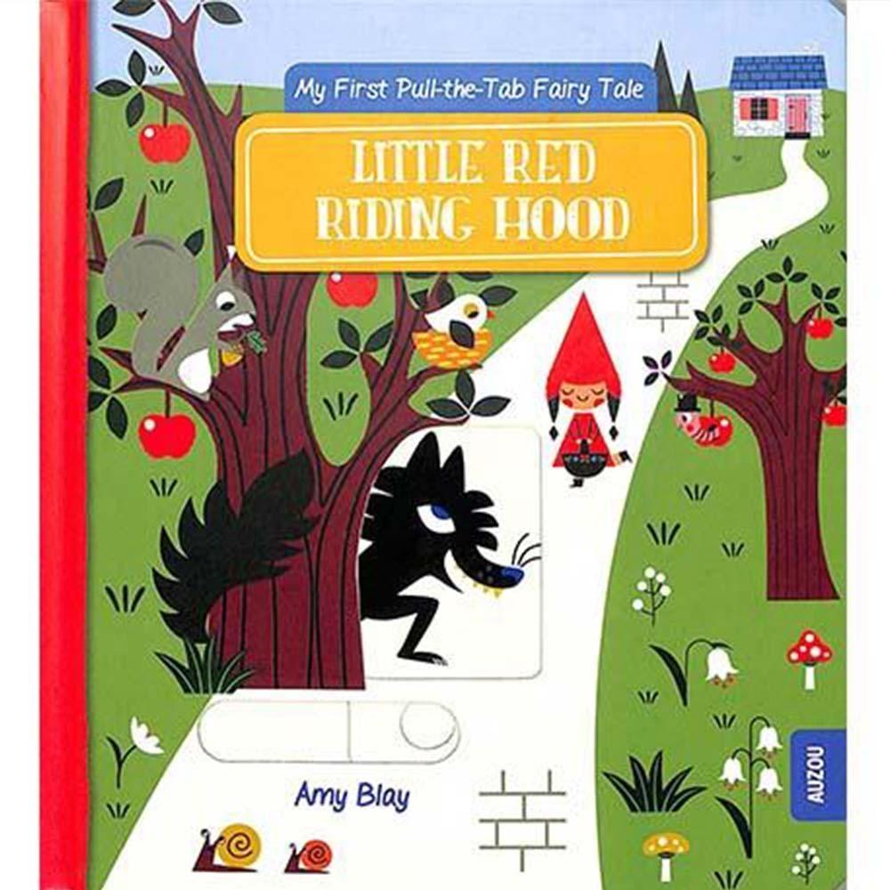 Little Red Riding Hood 小紅帽 推拉硬頁書
