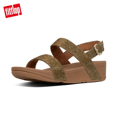 FitFlop LOTTIE GLITZY SANDALS 後帶涼鞋 黃金色