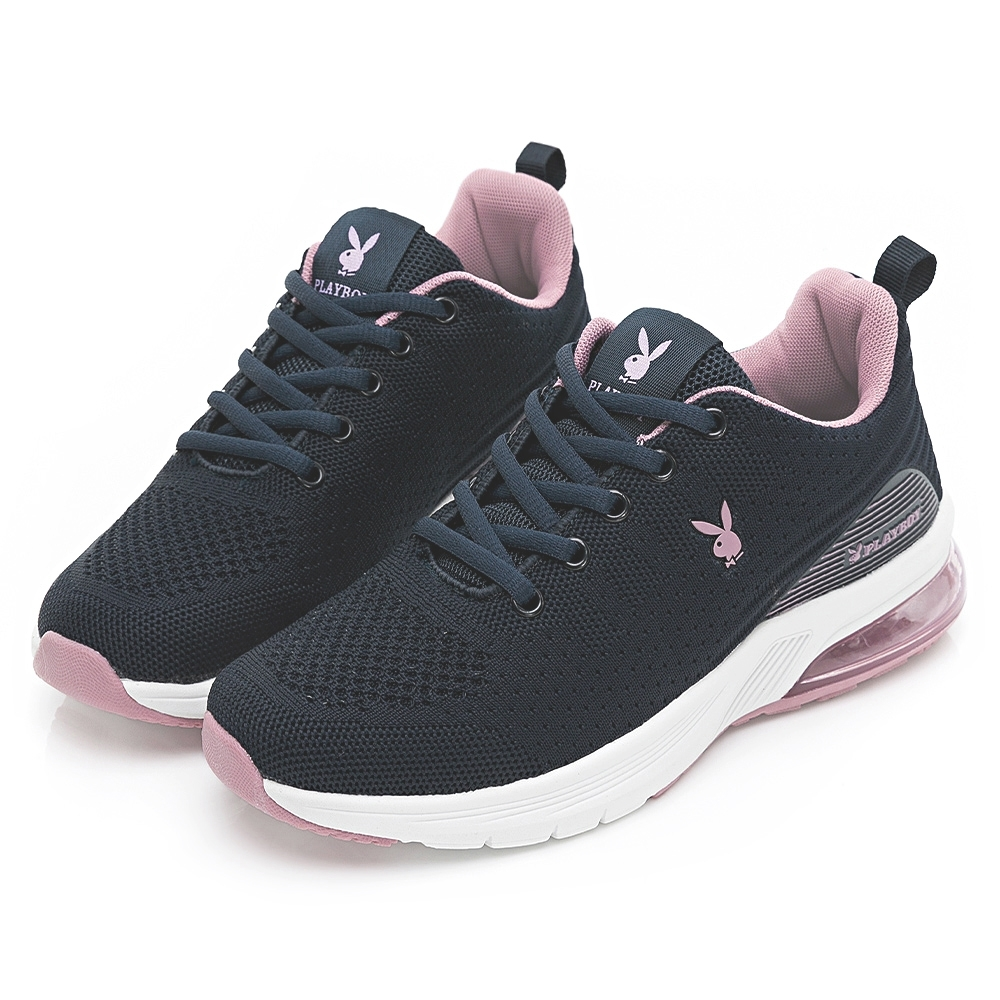 PLAYBOY 輕量氣墊休閒鞋-藍-Y6736FF