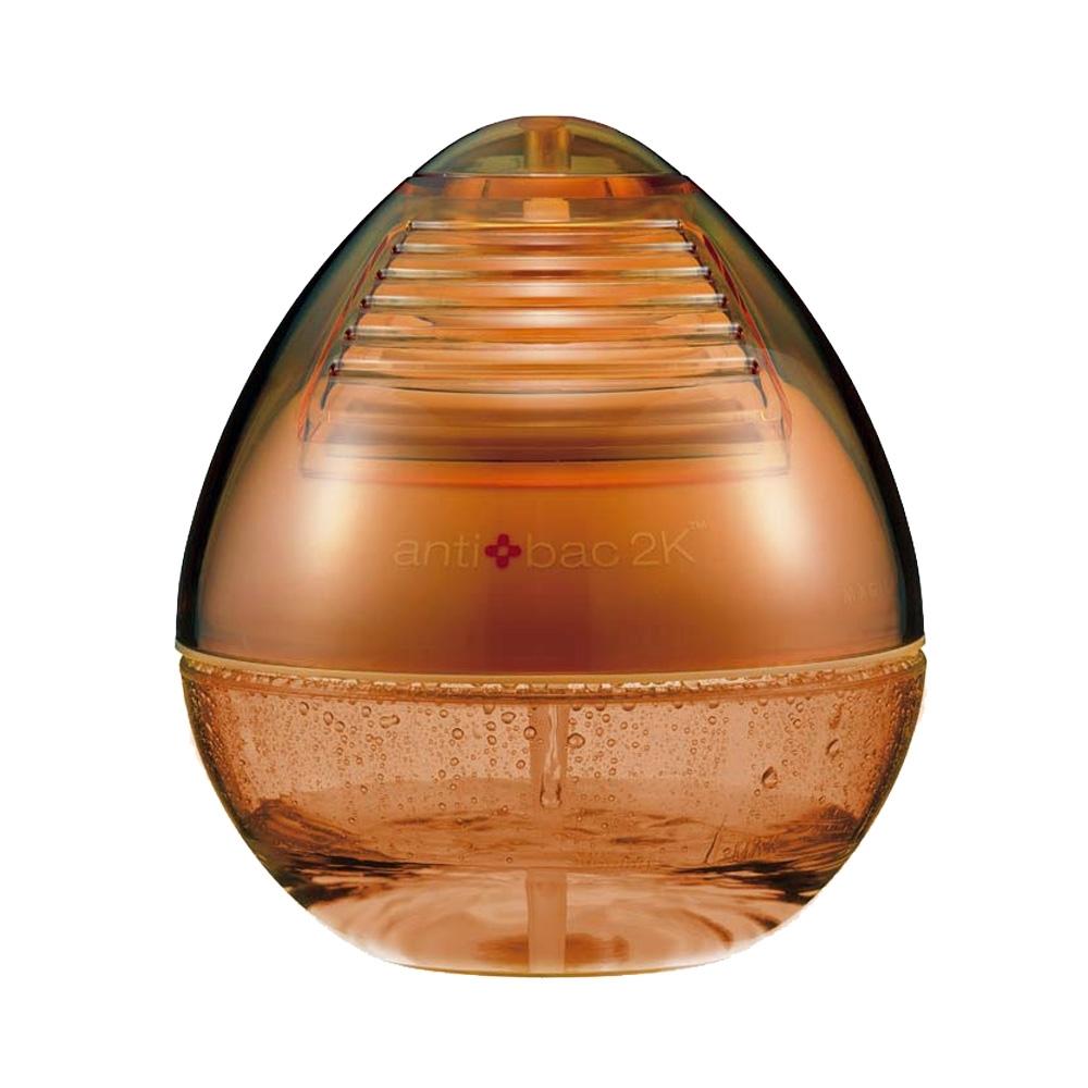 安體百克antibac2K 空氣洗淨機 DEW水滴型系列/橘色