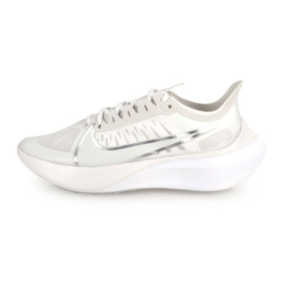 NIKE 女 慢跑鞋 WMNS NIKE ZOOM GRAVITY 白銀