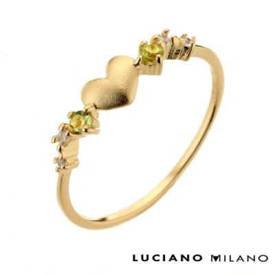 LUCIANO MILANO 戀戀極簡春光雋永之戀純銀戒指