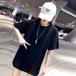 IMStyle 大碼時尚印花寬鬆顯瘦T恤【正品】