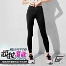 GIAT台灣製排汗防曬運動機能褲(女款)-經典黑