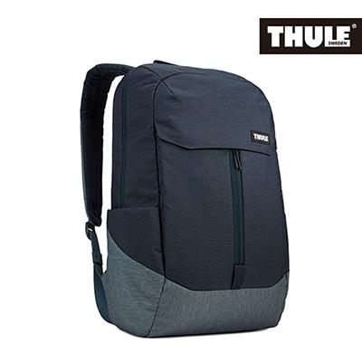 THULE-Lithos 20L筆電後背包TLBP-116-灰藍