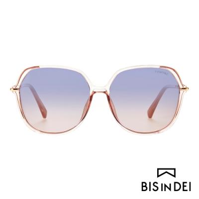 BIS IN DEI 巴黎女伶氣質框太陽眼鏡-粉