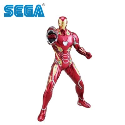 日本正版 復仇者聯盟 鋼鐵人 馬克50 公仔 19cm 終極之戰 漫威英雄 SEGA 356612