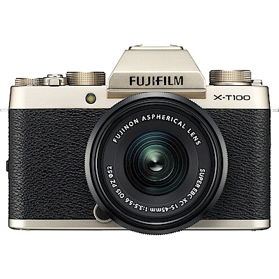 FUJIFILM X-T100 XC15-45mm 變焦鏡組(平輸中文)