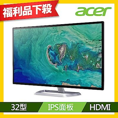 福利品便宜賣 Acer EB1 C 32型 2K IPS薄邊框電腦螢幕