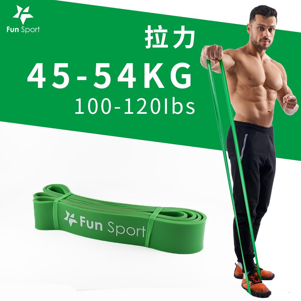 Fun Sport 健力環-乳膠環狀彈力阻力帶(綠)(阻力圈/彈力帶/拉力繩)