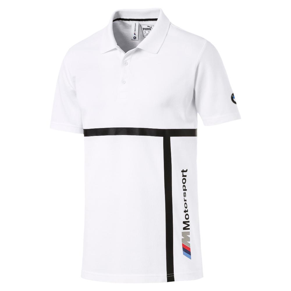 PUMA-男性BMW系列MMS Polo衫-白色-歐規