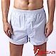 究jowear 純棉男平口褲 藍白條紋 product thumbnail 1