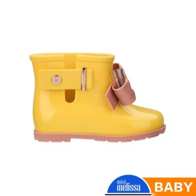 Melissa 低筒雨靴(寶寶款)-黃