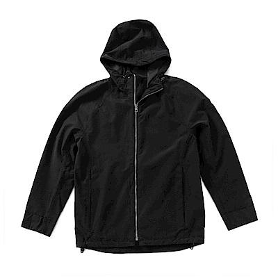 Timberland 男款黑色防水外套 | A1NC6001