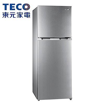 [無卡分期12期]TECO 東元 222公升 經典定頻雙門冰箱(R2302N)