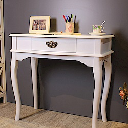 Asllie艾莉莎書桌/玄關桌/接待桌-白色