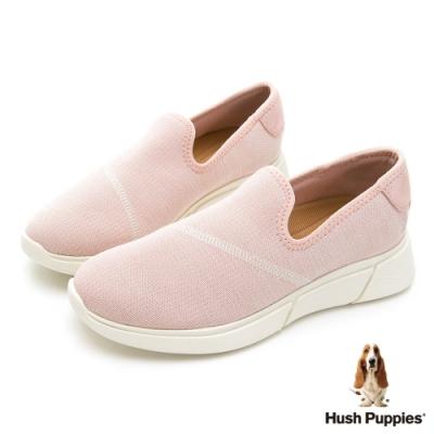 Hush Puppies 超人氣彈力輕量休閒鞋-粉紅色