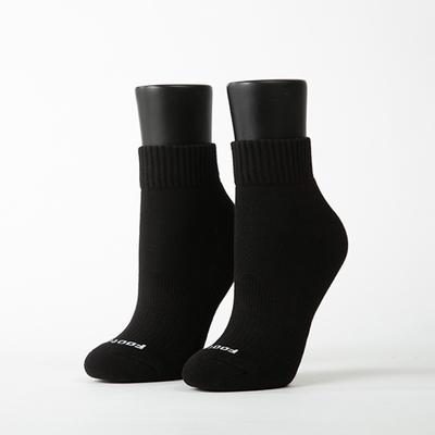 Footer除臭襪-素色美學氣墊運動襪(女襪-K91M)