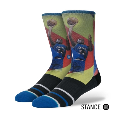 STANCE SHAQ TRADING CARD-男襪-NBA傳奇球星襪