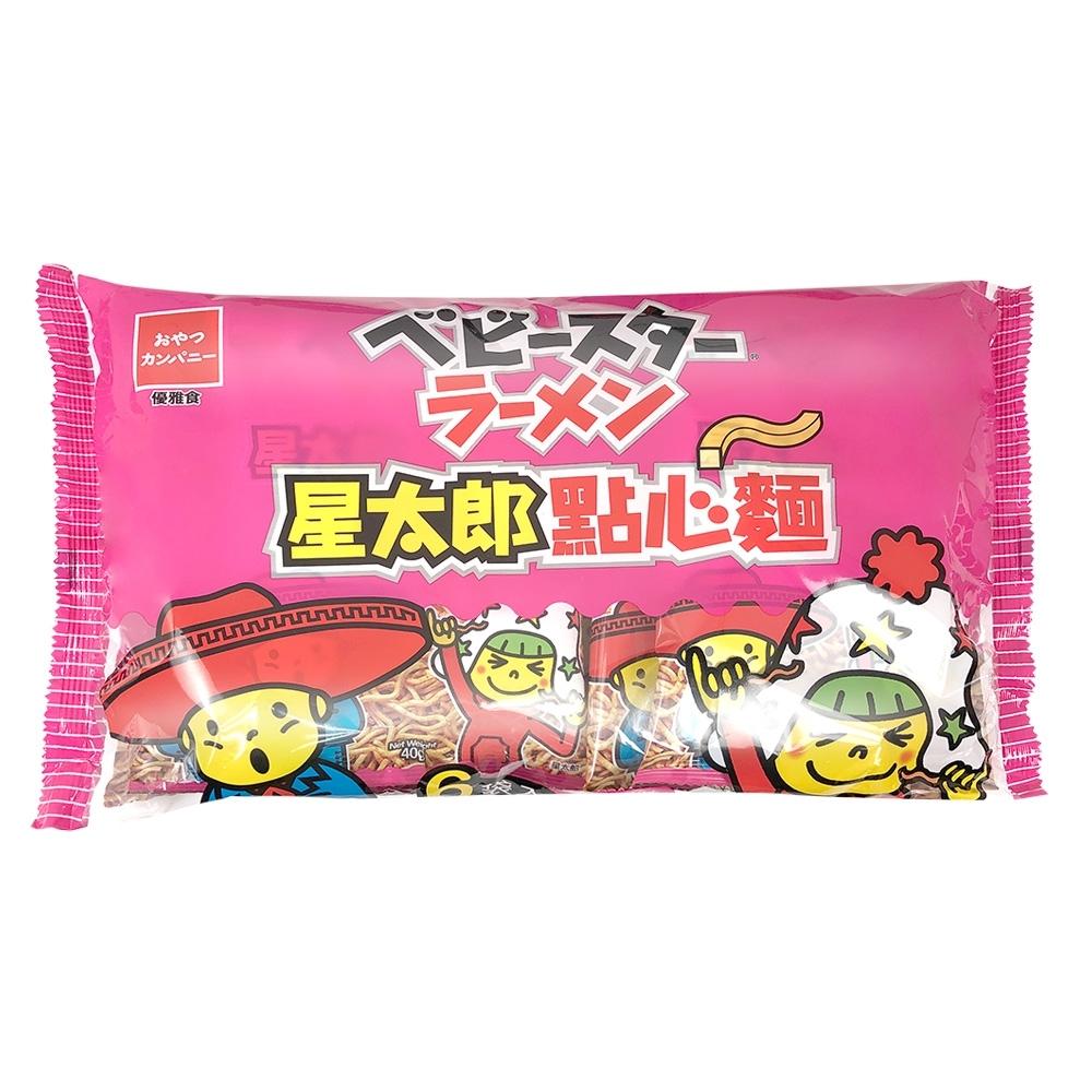 OYATSU優雅食 星太郎點心麵-中香辣分享包(40gx6包)